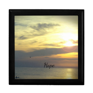 """Personalized """"Hope is on the Horizon"""" Gift Box"""