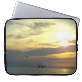 "Personalized ""Hope is on the Horizon"" Laptop Sleeve"