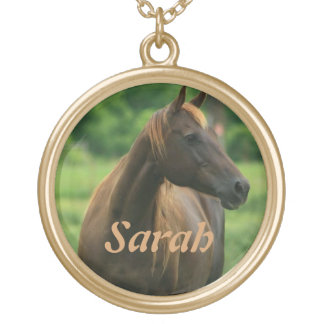 Personalized Horse Pendant