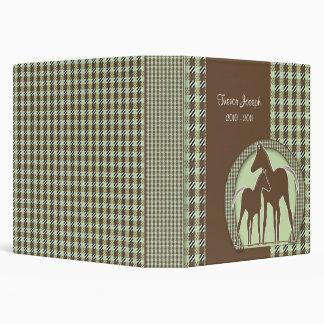 Personalized Horse Photo Album Vinyl Binder