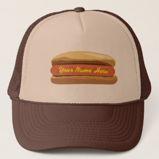 Personalized Hot Dog Hat