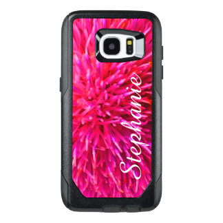Personalized Hot Pink OtterBox  Galaxy S7 Edge OtterBox Samsung Galaxy S7 Edge Case