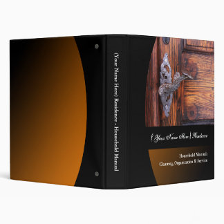 Personalized Household Manual Binders