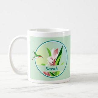 Personalized Hummingbird Mug
