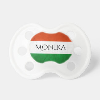 Personalized Hungarian Baby Pacifiers