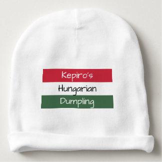 Personalized Hungarian Dumpling Baby Beanie