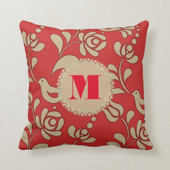 Personalized Hungarian Elegance Throw Pillow