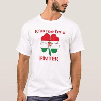 Personalized Hungarian Kiss Me I'm Pinter T-Shirt