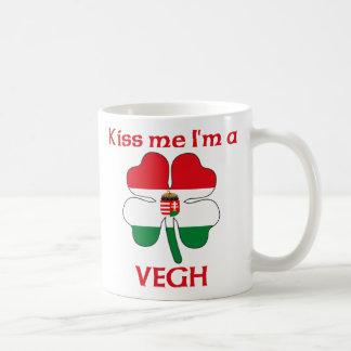 Personalized Hungarian Kiss Me I'm Vegh Classic White Coffee Mug