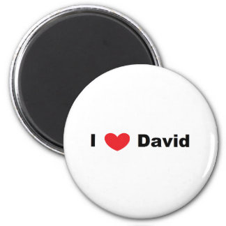 "Personalized ""I Love..."" Magnet"