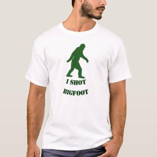 Personalized I shot Bigfoot T-Shirt