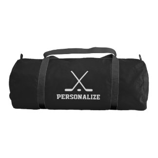 Personalized ice hockey bag for player and coach