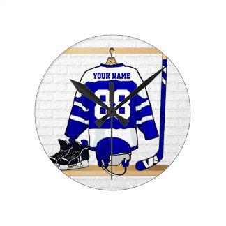 Personalized Ice Hockey Jersey Clock
