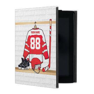 Personalized Ice Hockey Jersey iPad Case