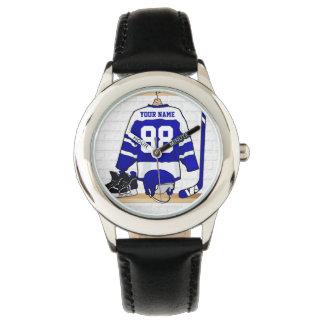 Personalized Ice Hockey Jersey Watch