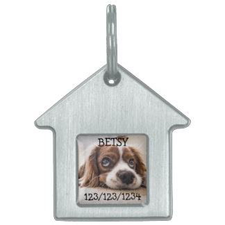 Personalized If Found Call, Dog Tags Dog House Tag