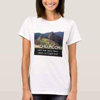 Personalized Inca Trail Machu Picchu Commemorative T-Shirt