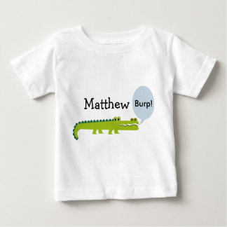 Personalized Infants alligator T-Shirt
