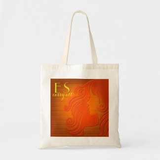 Personalized Initials Tote Bag | Stylized Pop Art