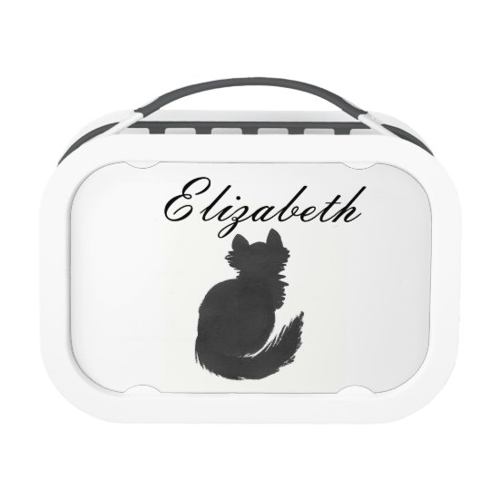 Personalized Ink Kitties Lunchbox