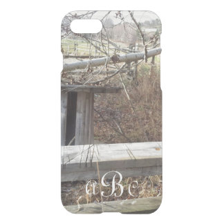 Personalized iPhone 7 Case Woods Scene