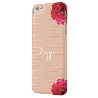 Personalized Iphone Case - Rosy over Gold