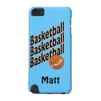Personalized iPod Touch Case - Basketball