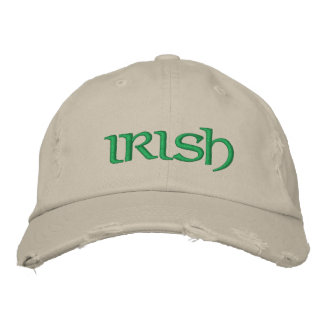 Personalized Irish Feck Embroidered Hat