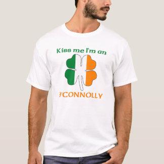 Personalized Irish Kiss Me I'm O'Connolly T-Shirt