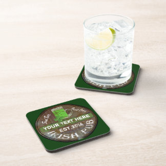 Personalized Irish Pub sign Coaster