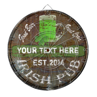 Personalized Irish pub sign Dart Boards