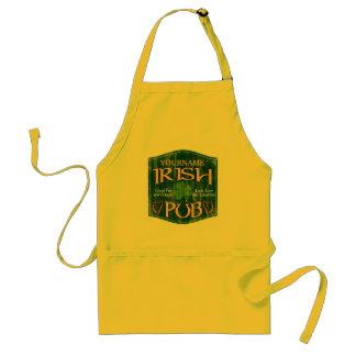 Personalized Irish Pub Sign Standard Apron
