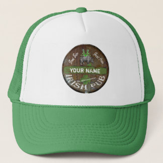 Personalized Irish pub sign Trucker Hat