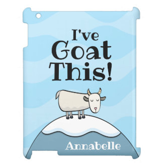 Personalized I've Goat This iPad Case