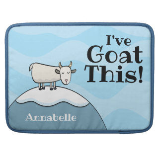 Personalized I've Goat This MacBook Sleeve