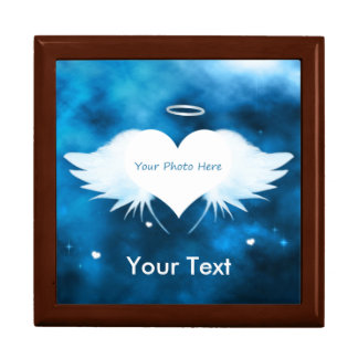 Personalized Jewelry Box - Angel of the Heart