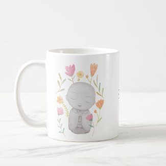 Personalized Jizo mug Custom Gift for Yoga Lover