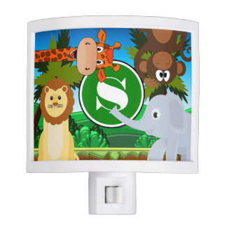 Personalized Jungle Nite Lights