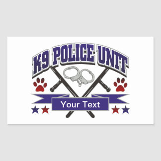 Personalized K9 Police Unit
