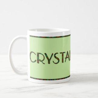 Personalized Kaleidoscope Name Mug - Crystal
