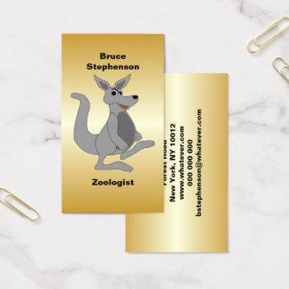 Personalized Kangaroo Design Business Card