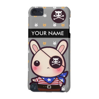 Personalized kawaii pirate bunny iPod touch (5th generation) cover