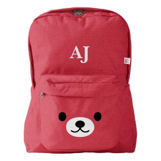 Personalized Kawaii Teddy Bear Backpack
