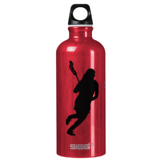 Personalized Kennedy Monogram K Lacrosse Female Water Bottle