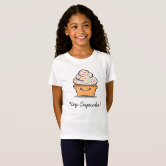 Personalized Kids Cute Cupcake T-Shirt