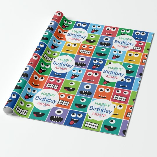 Personalized Kids Monster Birthday Party Add Age