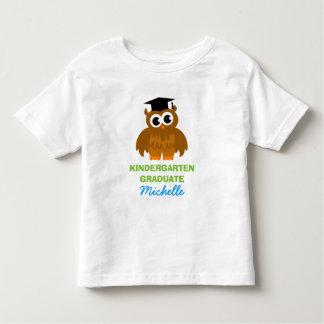 Personalized kindergarten graduate shirt for kids