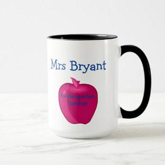 Personalized Kindergarten Teacher Mug