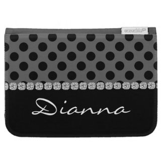 Personalized Kindle BLACK BLING Case Kindle Keyboard Covers