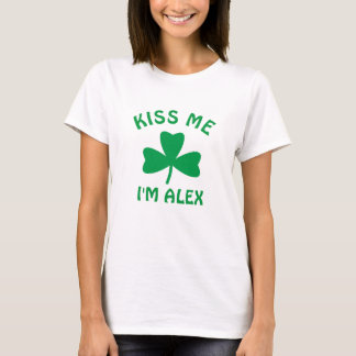 Personalized Kiss Me St. Patrick's Day Shirt